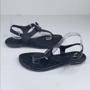 Michael Michael Kors Saffiano Alice sandal - 11